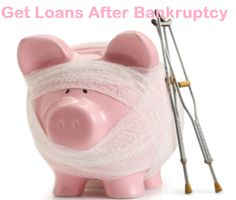 Loans after Bankruptcy- Easy Funds With Affordable System Even With Bankrupt Tag!