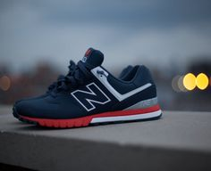 New Balance Revlite 574. Featuring a leather upper and Revlite midsole (as used in our running shoes), to offer lightweight and responsive cushioning.