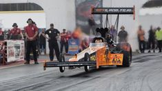 Top Fuel Dragster in Slow Motion