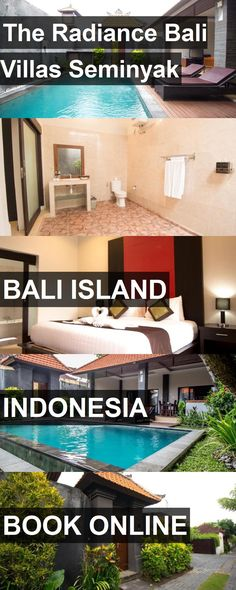 Hotel The Radiance Bali Villas Seminyak in Bali Island, Indonesia. For more information, photos, reviews and best prices please follow the link. #Indonesia #BaliIsland #travel #vacation #hotel