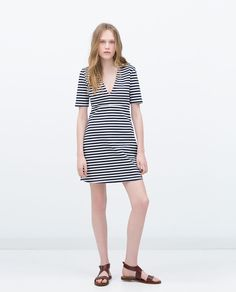 PRINTED DRESS-Dresses-Collection-TRF-SALE | ZARA United States