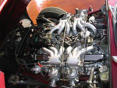 1973 Jaguar XKE Maintenance of old vehicles: the material for new cogs/casters/gears/pads could be cast polyamide which I (Cast polyamide) can produce V12 Engine, Aircraft Engine, My Dream Car, Dream Cars, Automotive Engineering, Bad Azz, Auto Detailing, Combustion Engine, Motor Scooters