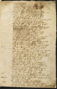 Shakespeare's handwriting