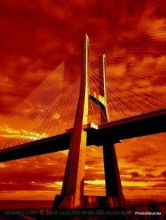 Paisagem Urbana/A Rainha das pontes.