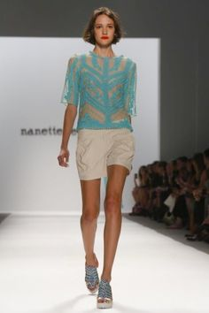 amazing top - Nanette Lepore Ready To Wear Spring Summer 2014