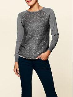 Sequin Sweater $69.00
