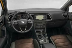 Photos of the Seat Ateca, the first SEAT SUV revealed in February 2016 ahead of a Geneva Motor Show debut. On sale autumn Interior and exterior photos. Brown Leather Recliner Chair, Swivel Rocker Recliner Chair, Honda Hr-v, Short Stools, Tiguan, Small Swivel Chair, Pedicure Chairs For Sale, Restoration Hardware Dining Chairs, Wooden Adirondack Chairs