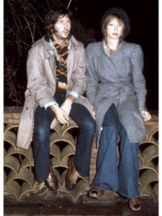 エリック・クラプトン(Eric Clapton)、パティ・ボイド(Pattie Boyd) Photo:GETTY IMAGES