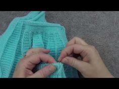 Örgü ile robadan kız elbise takımı - 37. Model (1/5) ● Örgü Modelleri - YouTube