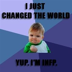 I Just Changed the world.