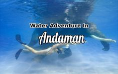There is a wide scope of water sports activities in Andaman. Here you will participate in elephant swimming, snorkeling, parasailing and much more.  #WaterSports #AdventureTours #Andaman #AndamanTours #TravelAndaman #TourTravelWorld