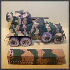 BA-3 Heavy Armored Car Free Vehicle Paper Model Download - http://www.papercraftsquare.com/ba-3-heavy-armored-car-free-vehicle-paper-model-download.html