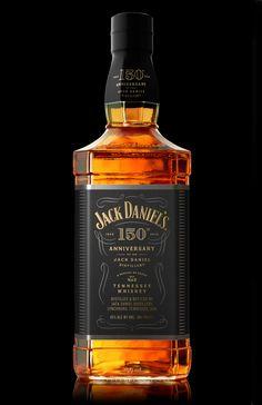 Jack Daniel's 150th Anniversary — The Dieline - Branding & Packaging Design