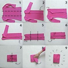 Folding clothes according to Konmari Clothes Drawer Organization, Diy Organisation, Organizing, Organizar Closet, Clothing Hacks, Tidy Up, Getting Organized, Space Saving, Konmari Methode