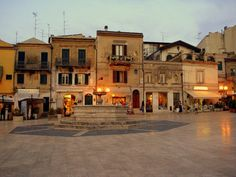 | ♕ | Piazza in Vasto, Italy | by Anche* | via fairytale-europe