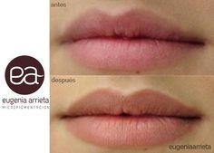 Eugenia Arrieta Micropigmentación Micropigmentación de labios - Eugenia Arrieta