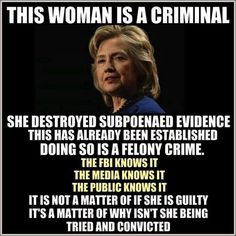 The CLINTONS are above the law