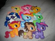 My Little Pony Perlers