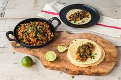 This simple picadillo recipe has the perfect balance of sweetness and spice. A pleasing tanginess comes from the addition of vibrant tomatillo salsa for a great depth of flavour. Serve in tacos or … Minced Beef Recipes, Mince Recipes, Ground Beef Recipes, Cooking Recipes, Mexican Cooking, Mexican Food Recipes, Ethnic Recipes, Chinese Recipes, Bed Recipe
