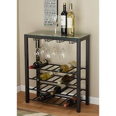 Decorating On A Budget: alcove Wine Rack Table #furniture #budget #gettington