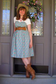 The Daisy Dress  www.mikarose.com
