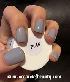 P.45 EZdip Gel Powder. DIY EZ Dip. No lamps needed, lasts 2-3 weeks! Salon…
