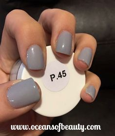 P.45 EZdip Gel Powder. DIY EZ Dip. No lamps needed, lasts 2-3 weeks! Salon…