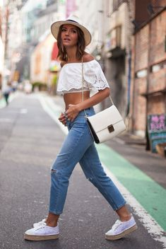 9 Ultra-Chic Ways to Wear an Off Shoulder Top | Be Daze Live