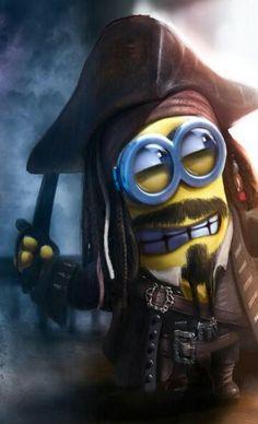 Captain Jack Minion