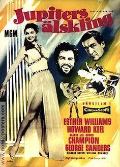 Jupiter's Darling 1955 Movie poster Esther Williams