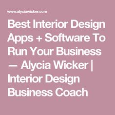 The Best Interior Design Project Software Ever! | Design Projects, Interiors  And Interior Design Software