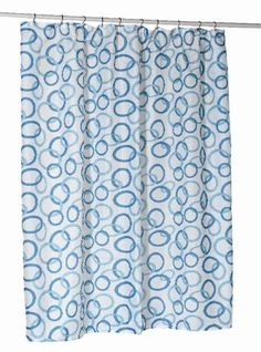 Carnation Home Fashions Blue Circles Stall Printed Fabric Shower Curtain, 54-Inch by 78-Inch Carnation Home Fashions http://smile.amazon.com/dp/B004A5WHHA/ref=cm_sw_r_pi_dp_xvp6vb0K2P82B