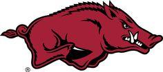 Arkansas Razorbacks Primary Logo (2014) -