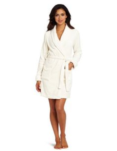 Intimo Women's Plush Fleece Robe, Papyrus, Large Intimo, http://www.amazon.com/dp/B008ES6EO6/ref=cm_sw_r_pi_dp_jgyirb1NAVP91