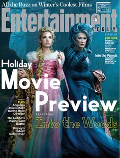 Entertainment Weekly Exclusive: Into the Woods with Meryl Streep and Mackenzie Maurey