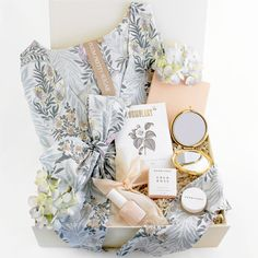 Loved and Found Something Blue Bridal Gift Box. Bridesmaid Gift.