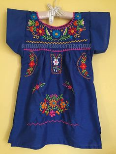 Vestido mexicano vestido mexicano túnica frida día kahlo de