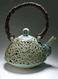collaborated piece w/ diane KW. honolulu, hawaii. lavaflow ceramics