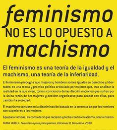 Feminismo vs. machismo « Chicas Malas