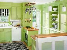 apple green kitchens | Green Apple Kitchen