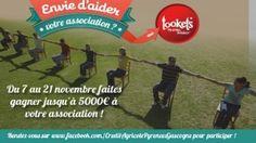 Du 7 au 21 novembre, aidez les assos à faire le plein de Tookets!