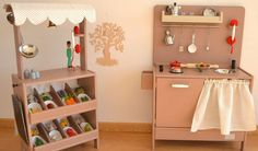 A world of dream wooden kitchen and role play toys at Macarena Bilbao - Babyology