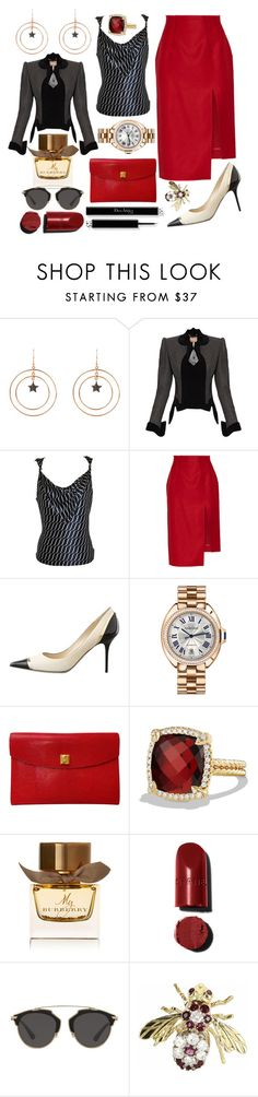 """""""Walk to success"""" by pulseofthematter ❤ liked on Polyvore featuring Latelita, Vivienne Westwood Gold Label, Giorgio Armani, Acne Studios, Jimmy Choo, Cartier, Hermès, David Yurman, Burberry and Christian Dior"""