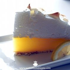 Not So Humble Pie: Lemon Meringue Pie