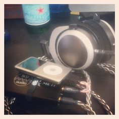 iPod Classic, Triple Pipe LOD, Rx MKII, Salty Pepper headphone cable, Modified Beyerdynamic T 70p #mysetup