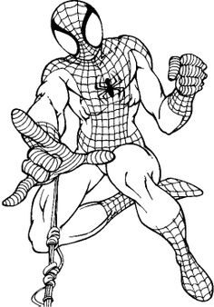 coloring pages spiderman free printable coloring pages - Coloring Pages Spiderman Printable