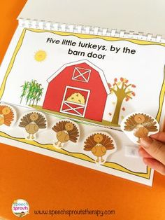 Fresh speech and language activities and ideas for the busy Speech Language Pathologist Preschool Speech Therapy, Speech Therapy Activities, Speech Language Pathology, Language Activities, Speech And Language, Thanksgiving Preschool, Fall Preschool, Preschool Kindergarten, Preschool Ideas