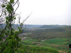 Blick vom Walberla