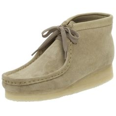 $104.95-$124.99 Clarks Originals Women's Wallabee Boot,Sand,5 M - The 'Wallabee Boot' from Clarks is a time honored tradition in trancendent footware. This classic originated in 1965 when Lance Clark sketched out a moccasin built on our nature-formed last to create the world's first comfort shoe. Genuine plantation crepe outsole cushions the foot. Nature-formed last allows for natural toe spread.  ...