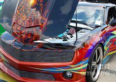 Custom painted 2012 Chevy Camaro